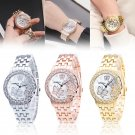 Women's Ladies Watches Crystal Stainless Steel Analog Quartz Wrist Watch