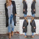 Women Long Sleeve Knitted Cardigan Loose Sweater Outwear Jacket Coat Sweater Top