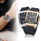 CURREN New Fashion Casual Quartz Watch Men's  Square Dial Wrist Watch