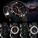 GT Extreme Sport Mens Black Watch Waterproof Stainless Steel Luxury Quartz Watch