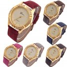 Fashion Geneva Womens Watches Ladies Diamond Leather Analog Quartz Wrist Watch
