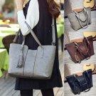 Fashion Lady Womens Leather Handbag Tassel Shoulder Bag Tote Purse Messenger Bag