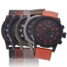 MILER Wristwatch Analog Chronograph Silicone Men's Casual Quartz Watch