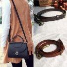 PU Leather Strap Shoulder Strap Belt for Handbags Shoulder Bag Black Coffee New
