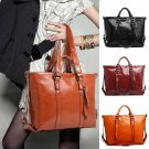 Women's Ladies Leather Handbag Shoulder Bag Messenger Satchel Tote Crossbody Bag