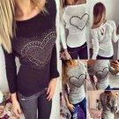 Autumn Casual Women Long Sleeve Loose Knitted Sweater Jumper Cardigan Outwear