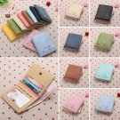 Women's Leather Wallet Coin Purse Clutch Wallet Lady Card Holder Small Cute Bag