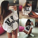Fashion Womens Long Sleeve Hoodie Sweatshirt Sweater Casual Hooded Pullover Coat