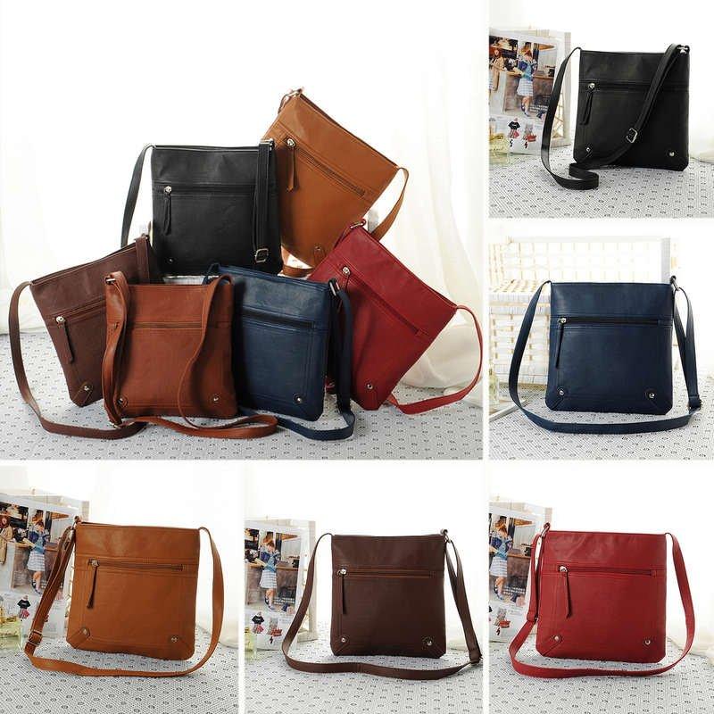 Fashion Womens Leather Satchel Cross Body Shoulder Messenger Bag Handbag