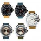 Wristwatchs Men Celeb Denim Band Quartz Wrist Watch Canvas Data Canvas