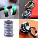 Women Men Change Color Temperature Mood Finger Rings Feeling Band Size 5 - 12