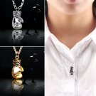 NEW Men's Women's Stainless special Steel Boxing Glove Pendant Necklace Chain