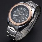 Classic Men's Luxury Stainless Steel Military Sport Quartz Analog Wrist Watches
