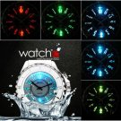 OHSEN LED Backlight Stainless Steel Quartz Men Sport Waterproof Wrist Watch