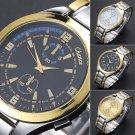 Hot Men's Fashion Stainless Steel Band Military Sport Luxury Quartz Wrist Watch