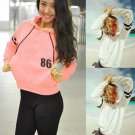 Women's Casual Long Sleeve Hoodie Sweatshirt Jumper Pullover Tops Shirt Coat NEW