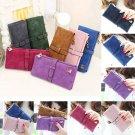 Fashion Women's Leather Zipper Clutch Wallet Long Card Holder Case Purse Handbag