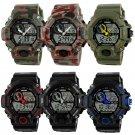 Digital Analog Sport Watch Army Military Men's Wristwatch LED Waterproof