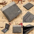 Men's Slim Leather Bifold Credit ID Card Holder Wallet Billfold Purse Clutch Bag