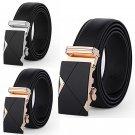 New Fashion Mens Luxury Leather Belt Automatic Buckle Belfstaff Belt Gold Silver