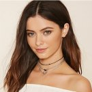 New Fashion Multilayer Charm Alloy Necklace Choker Chunky Statement Bib Jewelry
