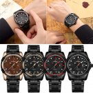 Men Naviforce Military Stainless Steel Wristwatch with 30M Water Resistance Date