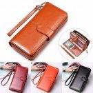 Fashion Lady Women Leather Wallet Long Zip Purse Card Holder Case Clutch Handbag