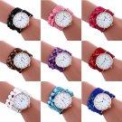 Fashion Womens Girls Casual Quartz Bracelet Watches Crystal Diamond Wrist Watch