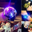 Fashion Ladies&Women Silicone LED Backlight Quartz Sport Wrist Watch Waterproof