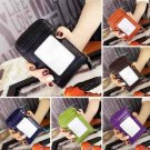 Mini Mens Womens Genuine Leather Wallet ID Credit Cards Holder Organizer Purse