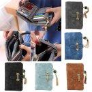 Women Leather Wallet Zipper Bag Card Holder Short Purse Clutch Coin Wallet New