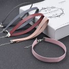 Women Leather Choker Gothic Punk Collar Necklace Charm Jewellery Gift Adjustable