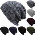 Unisex Men Women Knit Baggy Beanie Winter Hat Ski Slouchy Chic Knitted Cap Skull