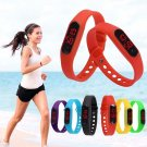 Silicone Women Men Stopwatch LED Bracelet Outdoor Sports Wrist Watch Gifts New