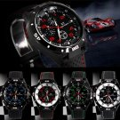 Fashion Rubber Silicone F1 GT Men Sports watch Casual Cycling Analog wrist watch