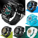 New Watch Sport Quartz Wrist Men Analog Digital Waterproof Military Wrist Watch