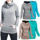 Women's Long Sleeve Hoodie Hooded Sweater Sweat Sweatshirt Tops Winter Pullover
