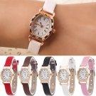 Female Fashion Oval Small Dial Ladies Wristwatch Cortex Watchband Quartz watches