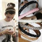 Vogue New Women Handmade Headband Flower Crystal Beads Hairband Hair Band