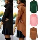 Women Long Sleeve Loose Knitted Jumper Pullover Tops Loose Sweater Coat Outwear