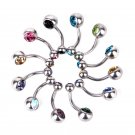 Wholesale Lot 12pcs Surgical Steel Navel Belly Button Ring Body Piercing Jewelry