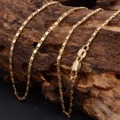 """18k Yellow Gold Plated hot Cuban Men's Jewelry Link Chain Necklace 22"""""""