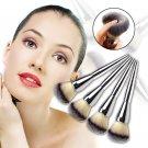 Hot 1pcs Face Makeup Blush Powder Silver Handle Cosmetic Large Brush NB