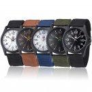 Fashion Mens Date Military Sports Stainless Steel Analog Quartz Army Wrist Watch