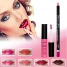 Waterproof Long Lasting Matte Liquid Lipstick & Lip Liner Cosmetics Kit Set