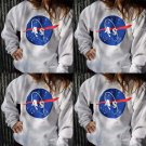 Women Oversized Casual Sweatshirt Printed Hoodie Pullover Baseball Blouse Tops