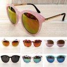 New Chic Ladies Womens Celeb Reflective Lens Mirrored Outdoor Eyewear Sunglasses