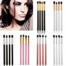 Pro 4PCS Makeup Cosmetic Tool Eyeshadow Eye Shadow Foundation Blending Brush Set