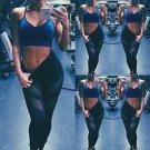 Women Waist Yoga Fitness Leggings Running Gym Stretch Sports Pants Trousers