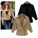 Womens Ladies Long Sleeve Casual Blazer Suit Casual Jacket Coat Outwear Tops